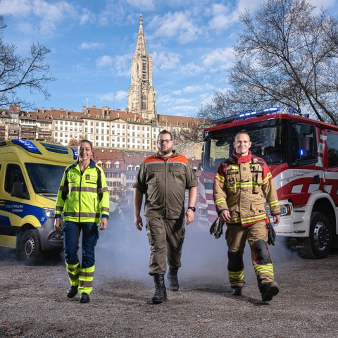 Schutz und Rettung Bern. Vergrösserte Ansicht