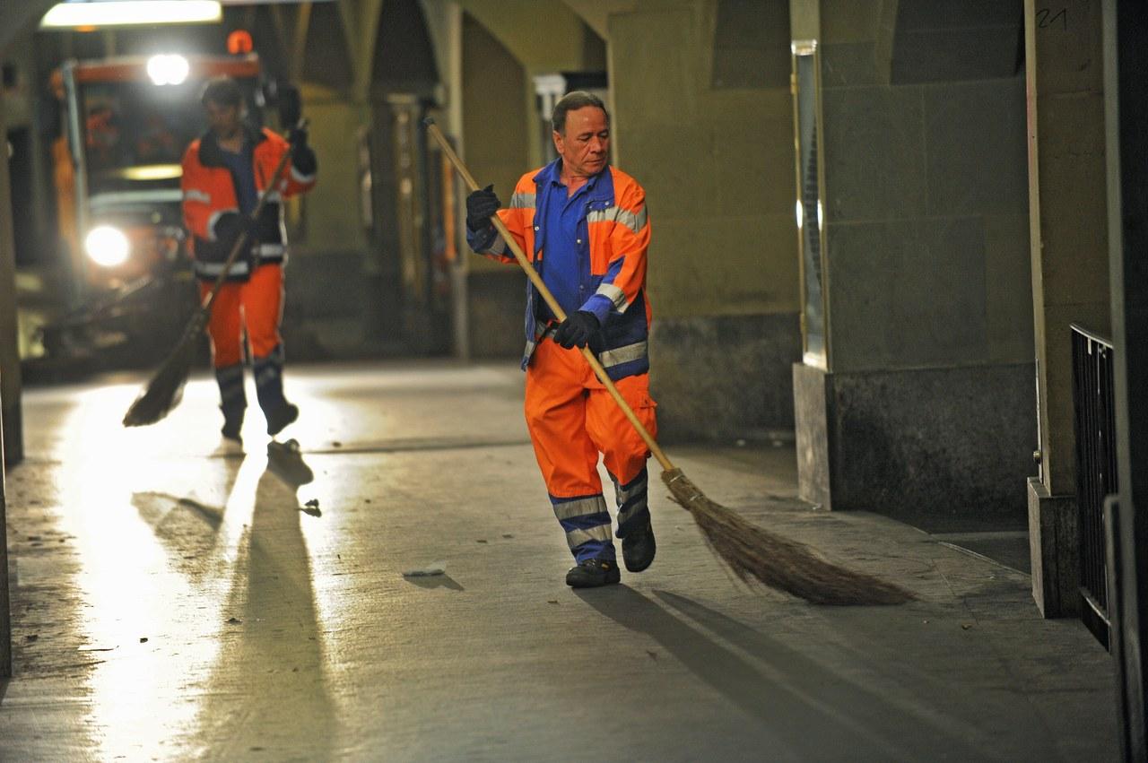 Die Strassenreinigung der Stadt Bern