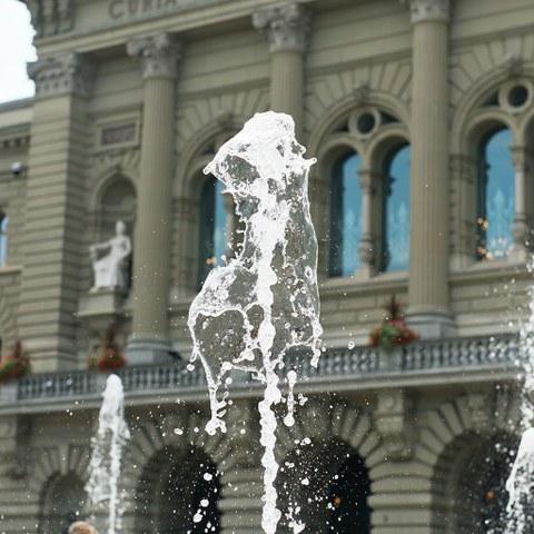 Bundesplatz. Vergrösserte Ansicht