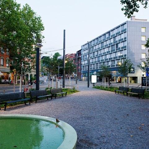 Eigerplatz. Vergrösserte Ansicht