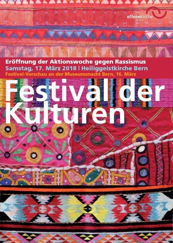 Plakat des Festival der Kulturen 2018