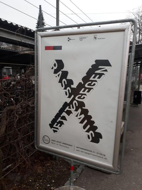 Plakat der 8. Aktionswoche gegen Rassismus