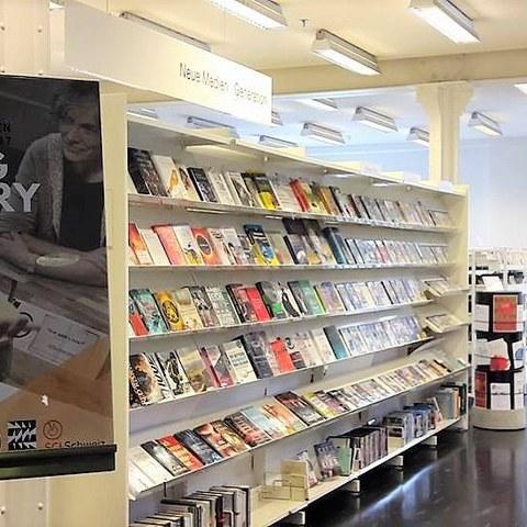 Living Library von SCI Schweiz. Vergrösserte Ansicht