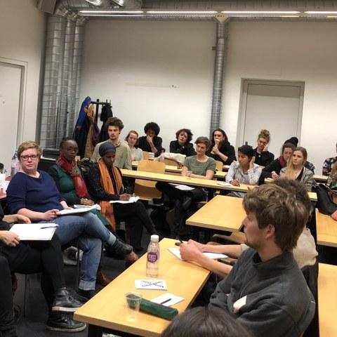 Rassismus an Hochschulen. Podiumdiskussion (SUB). Vergrösserte Ansicht