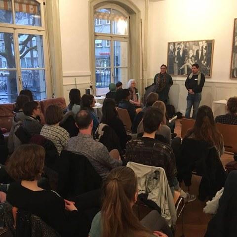 Der Rassismus in mir?!?, Workshop über strukturelle Diskriminierung, Privilegien und unsere eigene Rolle (NCBI und isa). Vergrösserte Ansicht