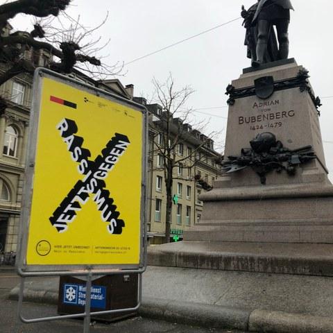 Hirschengraben Plakat. Vergrösserte Ansicht