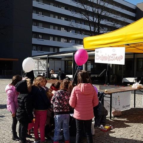Offener Kindernachmittag für Vielfalt und Toleranz in Bern West. Vergrösserte Ansicht