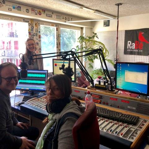 Sendung im Radio Rabe «Vox mundi – wo die Welt dir eine Umarmung gibt». Vergrösserte Ansicht