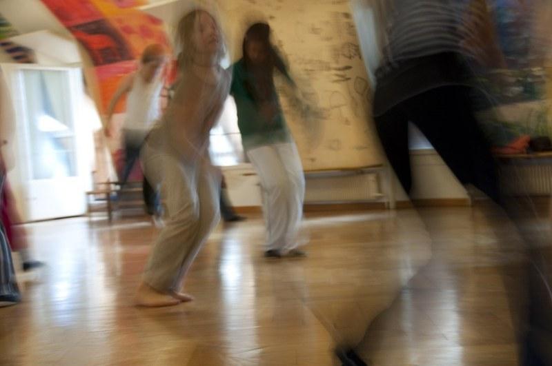 Tanzende Personen