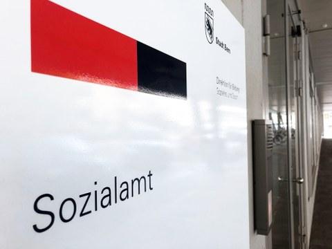 Eingang Sozialamt