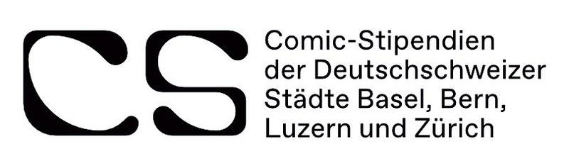 Logo Comicstipendium Deutschschweizer Städte