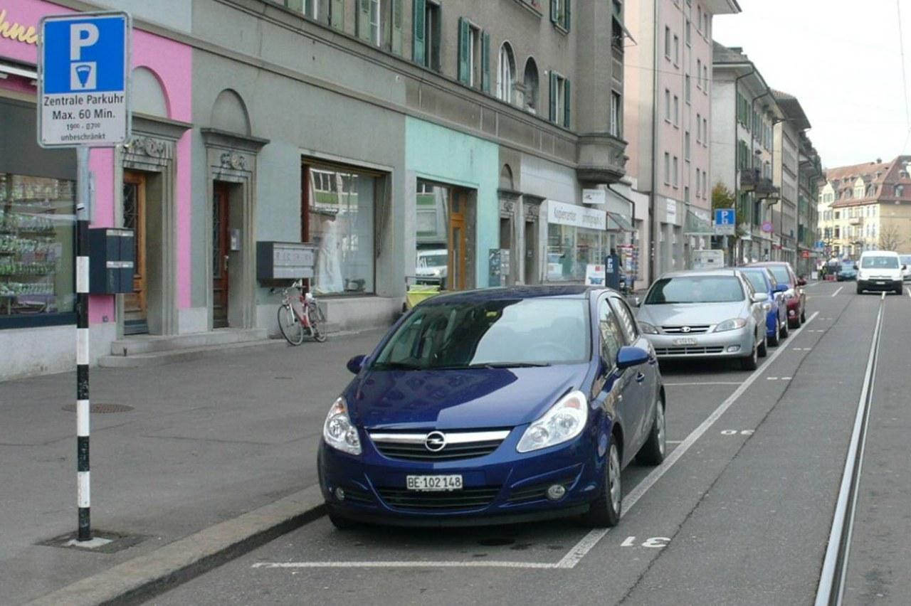 Parkplatz gebührenpflichtig