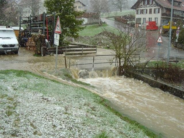 Hochwasser Gäbelbach