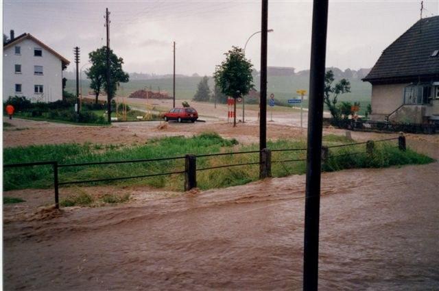 Hochwasser Riedbach