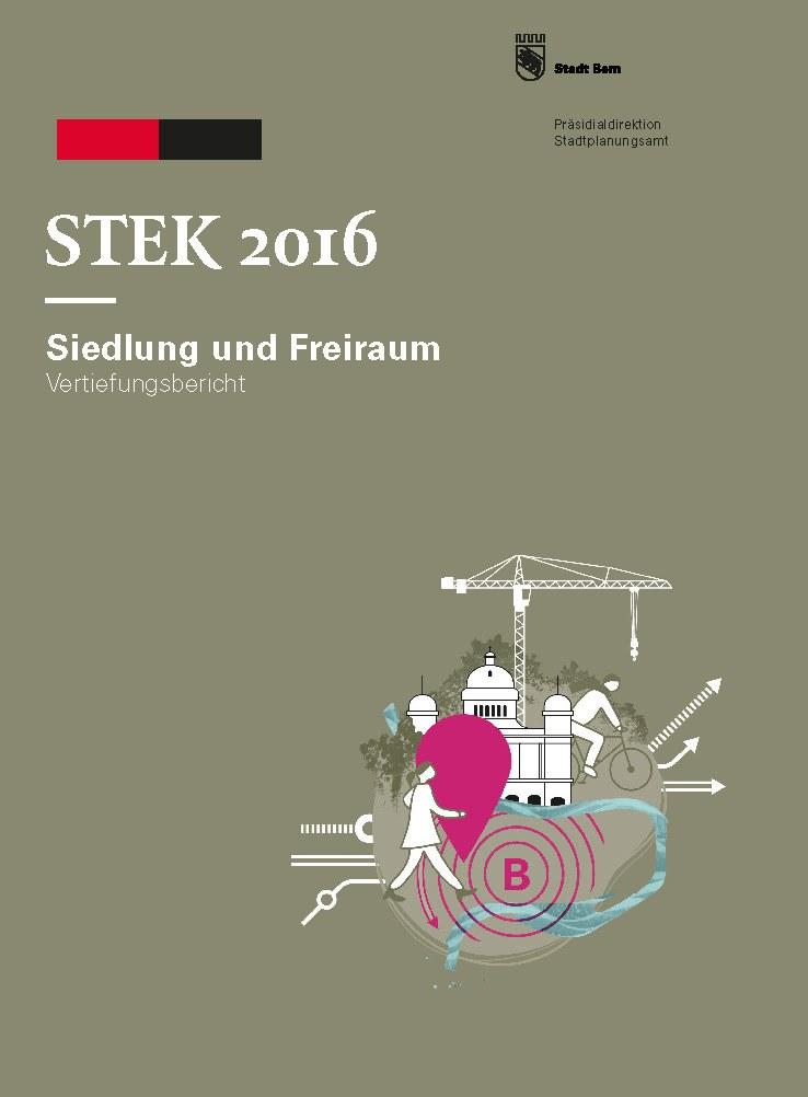 Titelblatt Siedlung Freiraum, Stek 2016