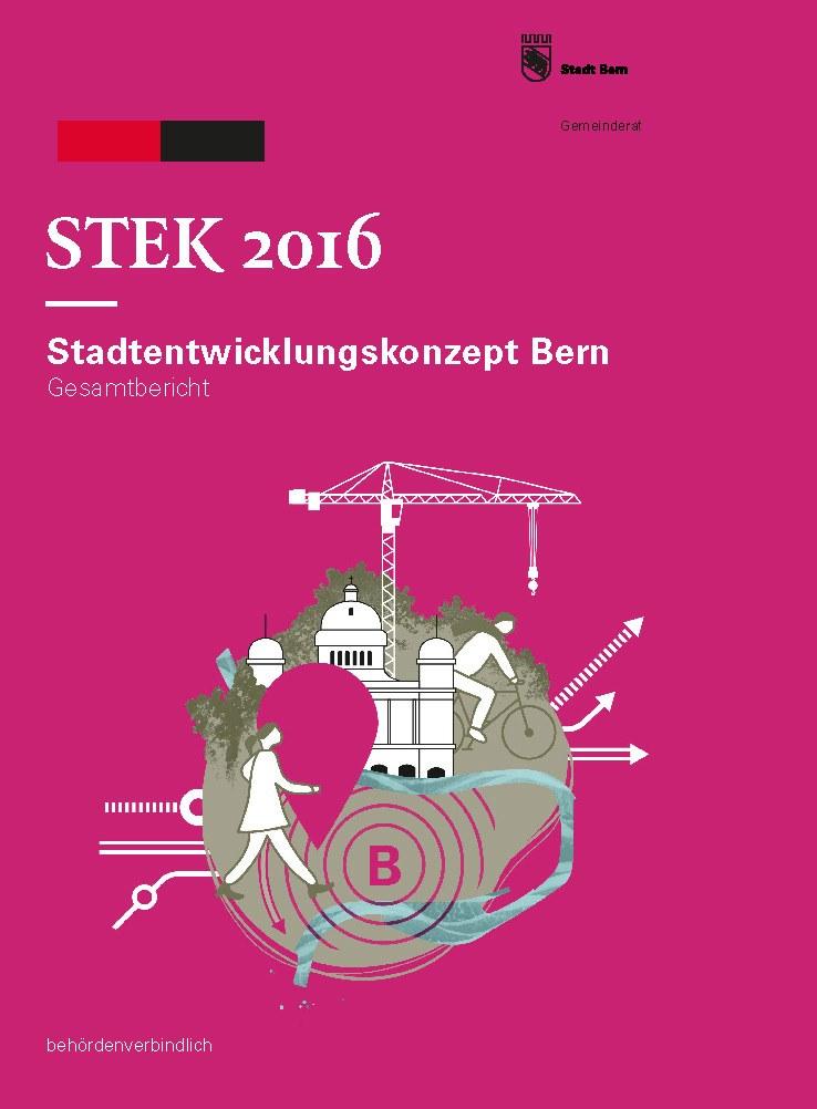 Titelblatt Gesamtbericht, Stek 2016