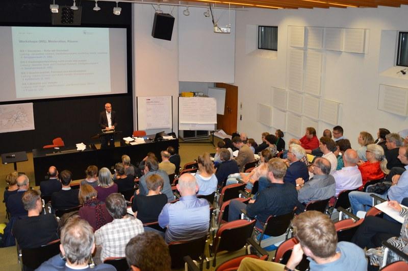 Präsentation und Diskussion der Zwischenergebnisse anlässlich des dritten STEK 2016-Forums