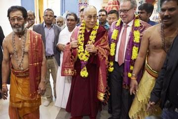 Dalai Lama in Bern. Vergrösserte Ansicht