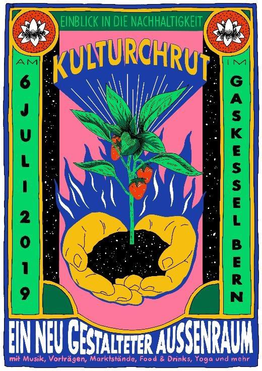 Plakat Kulturchrut Gaskessel