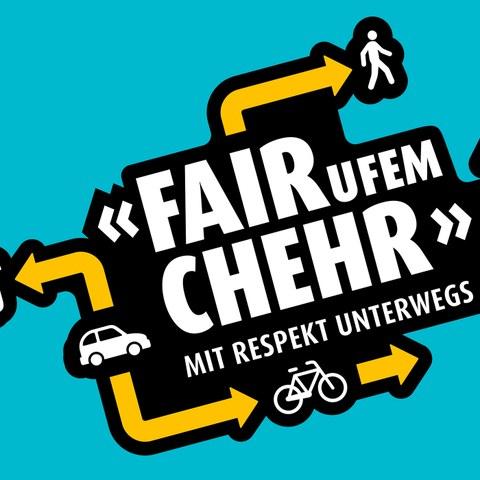 Logo «FAIR ufem CHEHR». Vergrösserte Ansicht