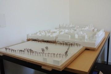 Architekturmodelle. Vergrösserte Ansicht